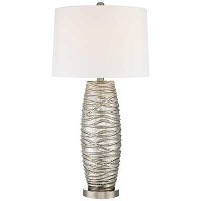 Higdon Mercury Glass Table Lamp - Lamps Plus