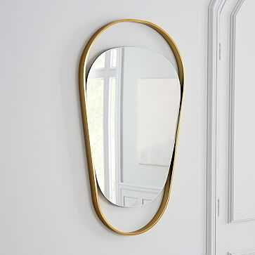 Brass Orbit Mirror-Wall - West Elm