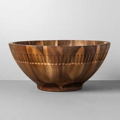 Acacia Wood Serving Bowl - Hearth & Hand™ with Magnolia - Target