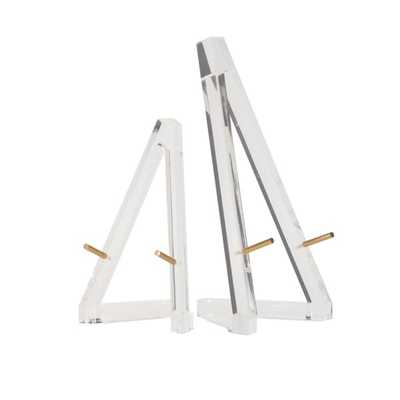 Acrylic Easels - Set of 2 - Mercer Collection
