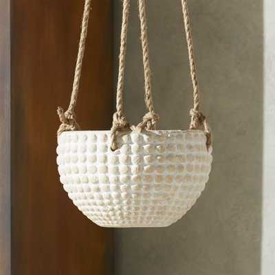 Zola Small Hanging Planter - CB2