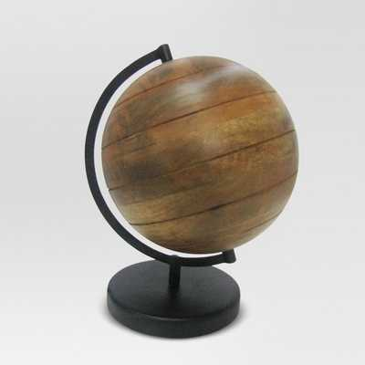 Wood Globe - Threshold™ - Target
