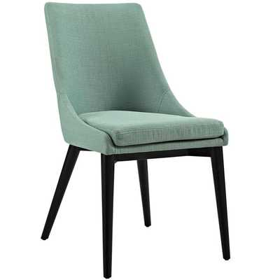 Viscount Fabric Dining Chair in Laguna - Modway Furniture