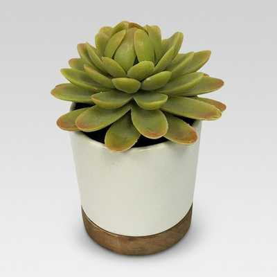 Artificial Plant in White Pot Small - Threshold™ - Target