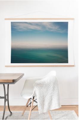 OMBRE CALIFORNIA Art Print And Hanger - Wander Print Co.
