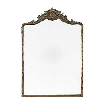"Ballard Designs Beaudry Mirror  45"" x 32"" - Antique Brass - Ballard Designs"