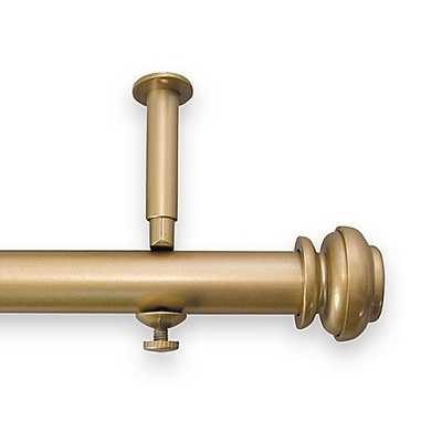Revel 144-Inch To 240-Inch Adjustable Rod In Gold - Bed Bath & Beyond