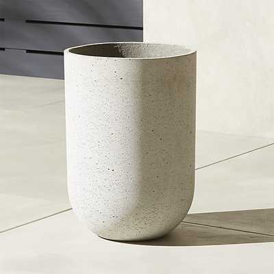 seminyak large grey planter - CB2