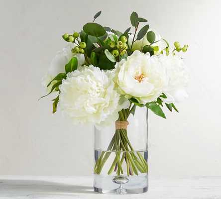 FAUX COMPOSED PEONY BOUQUET - Pottery Barn
