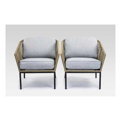 Standish 2pc Patio Club Chair - Project 62™ - Target