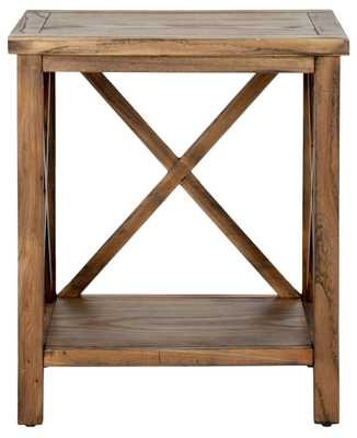 CANDENCE CROSS BACK END TABLE - Arlo Home