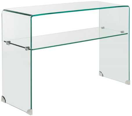 Hollis Clear Console Table - Arlo Home