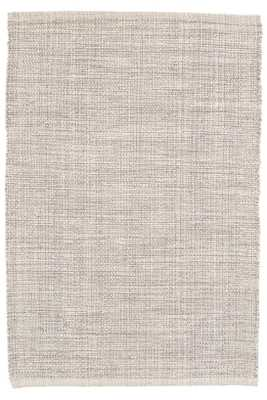 MARLED GREY WOVEN COTTON RUG - 8 x 10' - Dash and Albert
