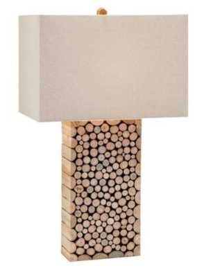 Cynder Wood Table Lamp - Mercer Collection