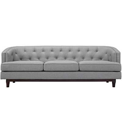 COAST SOFA IN Light GRAY - Modway Furniture