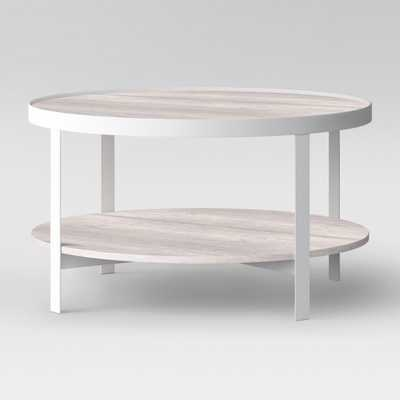 Riehl Metal Round Coffee Table White - Project 62™ - Target