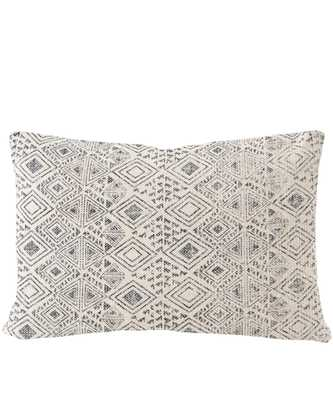 Wanderer Lumbar Pillow, Charcoal - High Street Market
