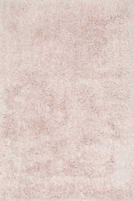 "KENDALL SHAG Rug BLUSH 7'-9"" x 9'-9"" - Loma Threads"