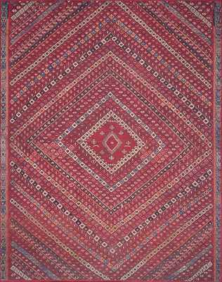 LUCCA Rug RED / MULTI 10' X 13' - Loma Threads