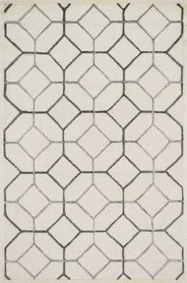 "PANACHE Rug IVORY / GREY 9'-3"" X 13' - Loma Threads"
