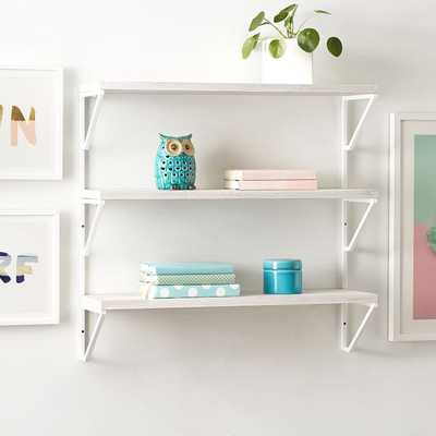 Weathered Bookcase - Pottery Barn Teen