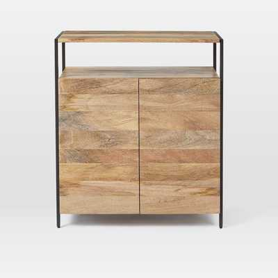 Industrial Storage Small Cabinet - West Elm
