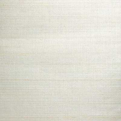 Stelios Grey Grasscloth Wallpaper from the Jade Collection by Brewster Home Fashions - Burke Decor