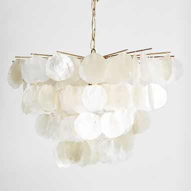 Large Capiz Chandelier - Pottery Barn Teen