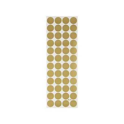 Gold Polka Dot Decals - Crate and Barrel