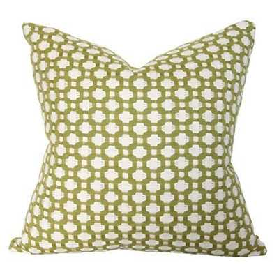 """Betwixt Grass Pillow -17"""" x 17""""- No Insert - Arianna Belle"""