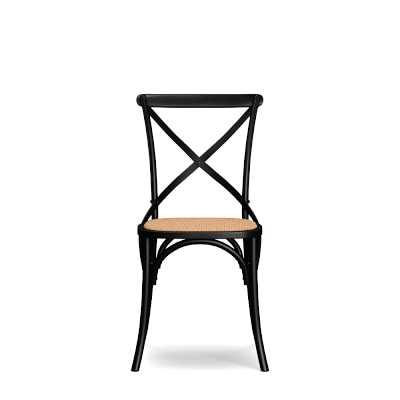 Bistro Side Chair, Black - Williams Sonoma