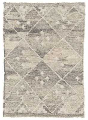 KOTA NATURAL WOVEN WOOL RUG - Dash and Albert