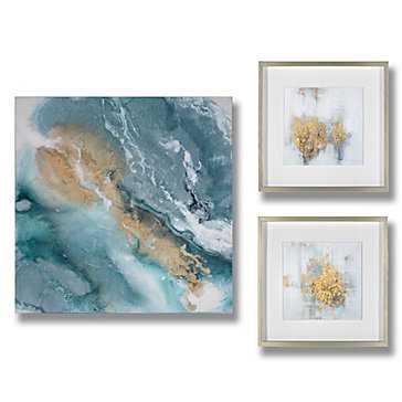 Golden Granite - Set Of 3 - Z Gallerie