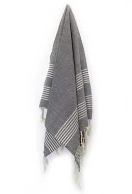 Turkish Dish Towel - Black (Set of 2) - Willa Skye
