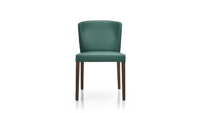 Curran Teal Dining Chair - Crate and Barrel