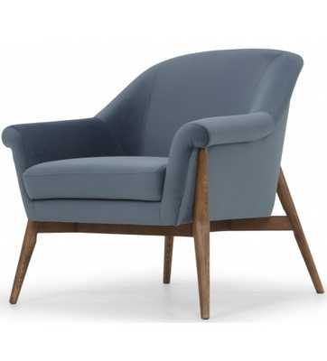 TAITUM CHAIR, BLUE - Lulu and Georgia