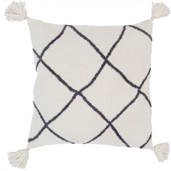 Braith Pillow Cover with Poly Insert - Neva Home