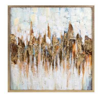 Katsu Framed Oil Painting - Mercer Collection