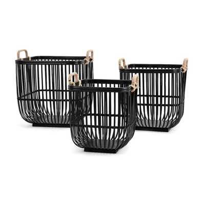 Rit Baskets - Set of 3 - Mercer Collection