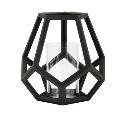Ubon Large Wood Lantern - Mercer Collection