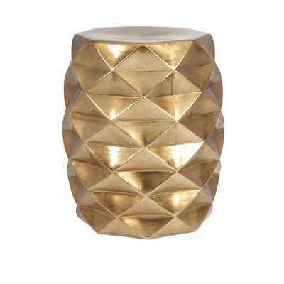 IK Geometric Garden Stool - Mercer Collection