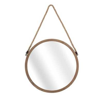 Rally Wood Mirror - Mercer Collection