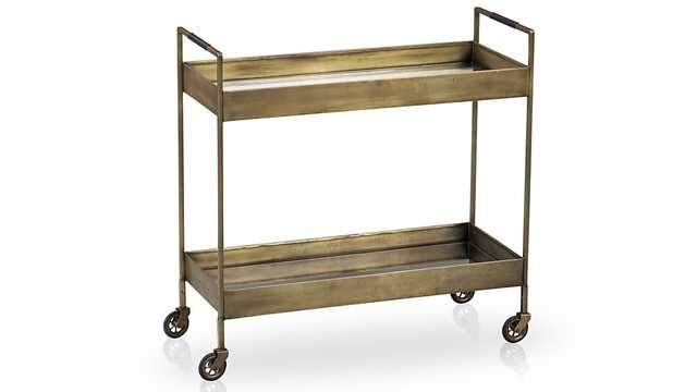 Libations Bar Cart - Crate and Barrel