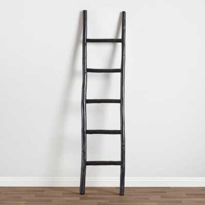 Black Wood Ladder Decor - World Market/Cost Plus