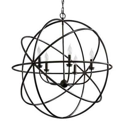 Ballard Designs Beau Orb Chandelier  Bronze - Small - Ballard Designs
