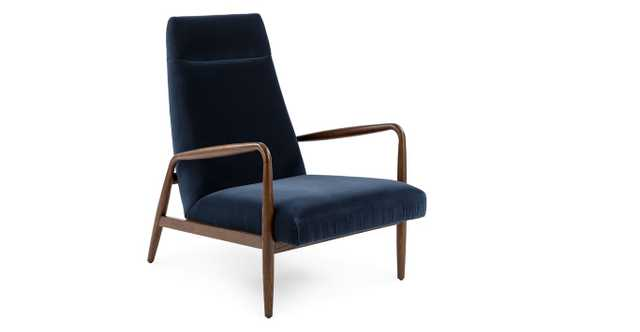 Pender Cascadia Blue Chair - Article