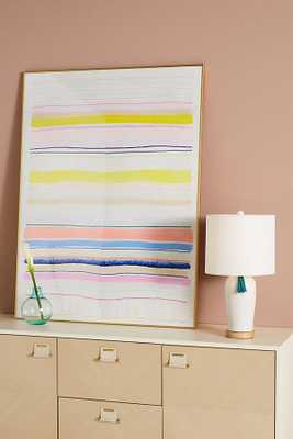 Spring Stripes 4 Wall Art - Anthropologie