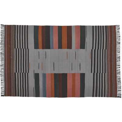 Gradient Grey Wool Rug 8x10' - CB2