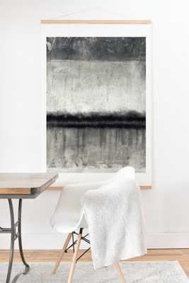 E2 Art Print And Hanger - Oak Hanger, 40x60 - Wander Print Co.