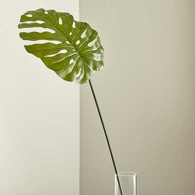 Faux Monstera Leaf - Crate and Barrel